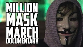 Anonymous Million Mask March: The Nasty Side (Short Documentary) [2013]