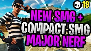 The NEW SMG + Compact SMG Nerf In Fortnite! (Season 5 New Meta Post-Patch)