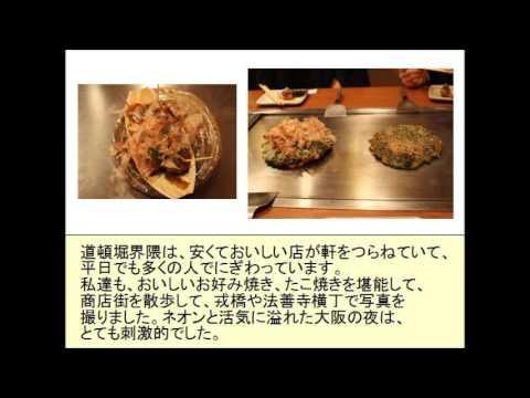 Osaka gourmet city