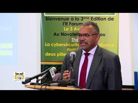 IT Forum Benin 2017 - Intervention de l'Agence du Numérique