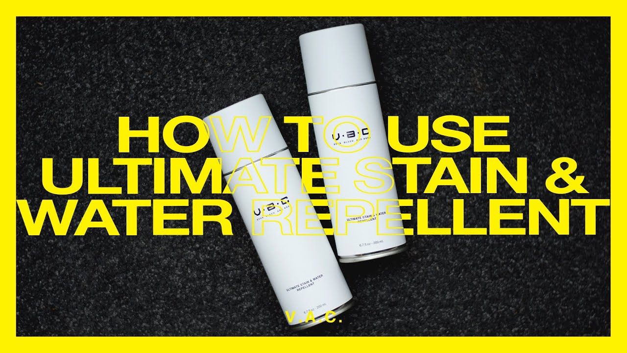 How To Use : V.A.C.[ Culture ]™ - Ultimate stain & water Ultimate stain & water repellent