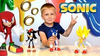 ИГРУШКИ Cоник Sonic X Boom - обзор серии игрушек,Unboxing Soniс boom toys