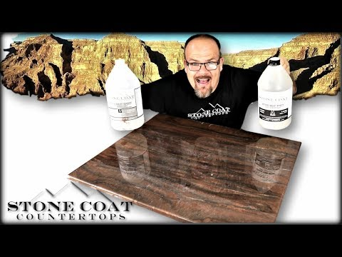 Grand Canyon Epoxy Color