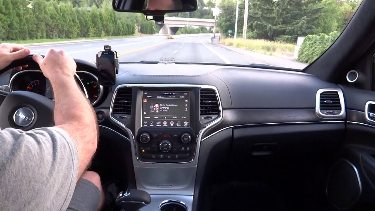 2014 Jeep Grand Cherokee Summit 3 6l With K Amp N Intake Youtube