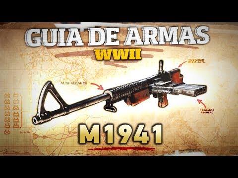 GUIA de ARMAS COD WWII - M1941, el rifle más subfusil (Análisis, Estadísticas y Mejores Clases)