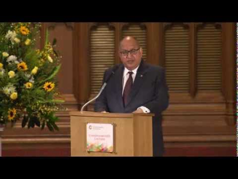Ricken Patel: Commonwealth Lecture 2013