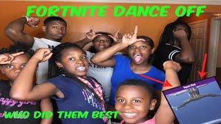 Fortnite Battle Royal Dance Off (In real life)