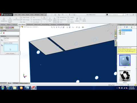 Full Download Solidworks Sheet Metal Fold And Unfold Tools