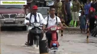 Torrential rains cause landslide and flooding in Biliran