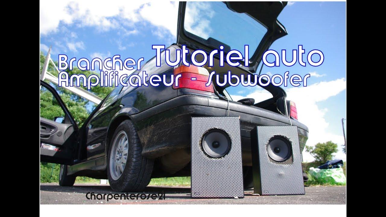 brancher votre amplificateur de voiture