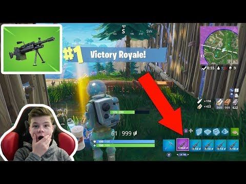 LMG ONLY CHALLENGE IN FORTNITE!