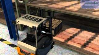 Forklift Truck Simulator 2009 for PC Trailer