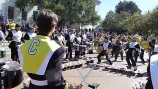 """Turn Down for What"" into ""Military"" cadences - Cal Drumline"