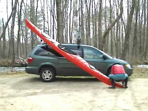Loading A Kayak With A Yakima Boat Loader Youtube