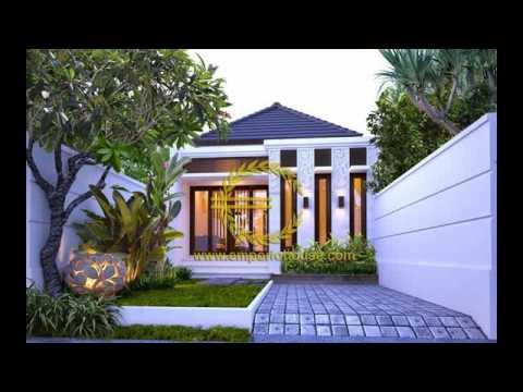 Desain Rumah Ukuran 6x12 Youtube Gambar