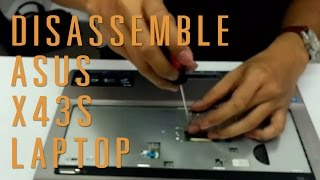Video Asus X43S laptop take apart/disassemble download MP3, 3GP, MP4, WEBM, AVI, FLV Juli 2018
