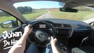 2018 VW Tiguan Allspace 2.0 TDI 150 hp POV test drive
