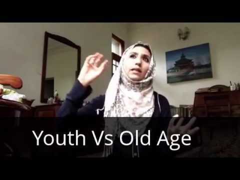 Deluded by YOUTH till you reached OLD AGE