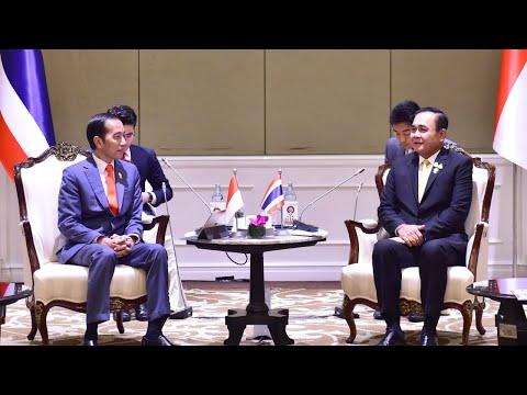 Pertemuan Bilateral dengan Perdana Menteri Thailand, Bangkok, 22 Juni 2019