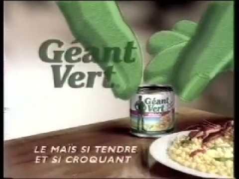 Saga PUB Géant Vert™ : La main verte - 1992