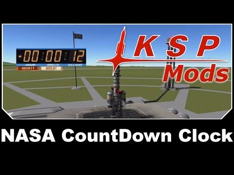 KSP Mods - NASA CountDown Clock