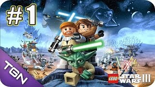Lego Star Wars 3 The Clone Wars - Gameplay Español - Capitulo 1 - HD 720p