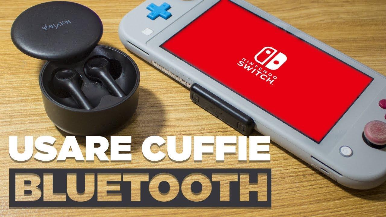 Cuffie Bluetooth Nintendo Switch: guida su come usarle ...