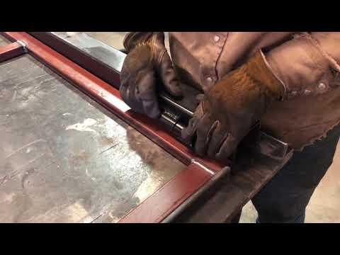 Fence OKC Steel Frame Gate For Wood Fence