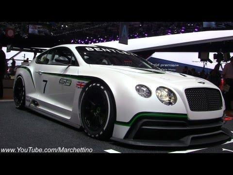 Bentley Continental GT3 Racecar - 2012 Paris Motor Show