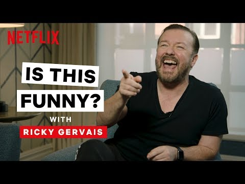 Is This Funny? with Ricky Gervais   After Life   Netflix Is A Joke