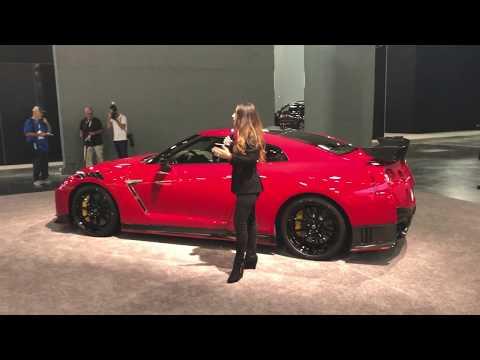 2020 Nissan GT R NISMO Press Conference At Miami Auto Show