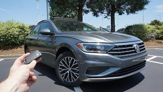 2019 Volkswagen Jetta SEL: Start Up, Test Drive, Walkaround and Review