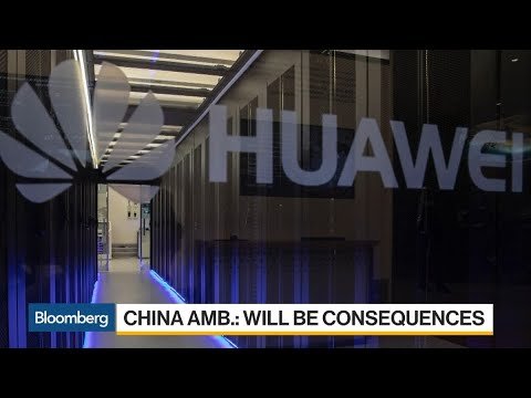 China Clashes With Germany Over Huawei