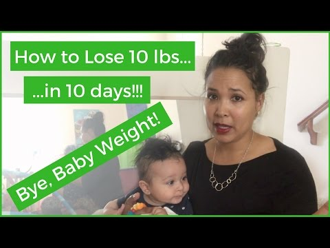HOW TO LOSE BABY WEIGHT WHILE BREASTFEEDING || 10 LBS IN 10 DAYS! || KETO DIET || #MOMLIFE