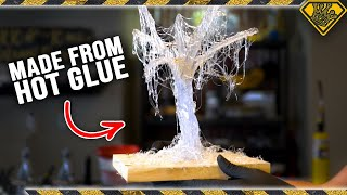 Sculpting with HOT GLUE