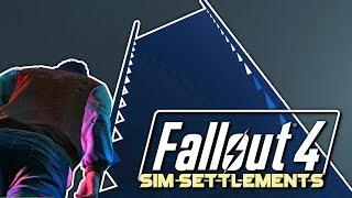 Infinite Tower | Fallout 4 🛠 Sim Settlements | Episode 5 [2018]