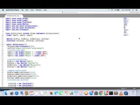 Calculator program in java using swing/awt source code eclipse.