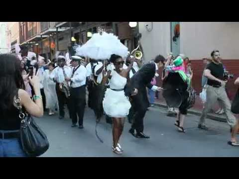 April and Ken's Second Line Video
