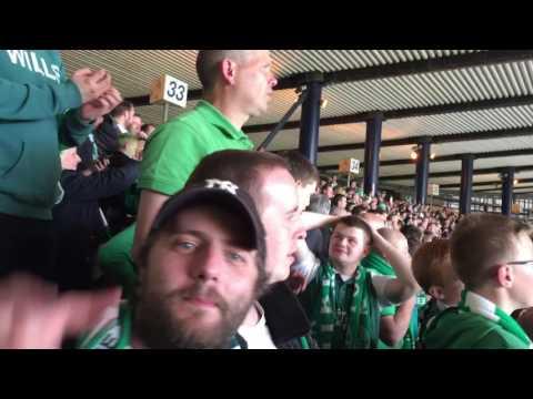 Scottish Cup Final 2016 - Sunshine On Leith/Glory Glory To The Hibees