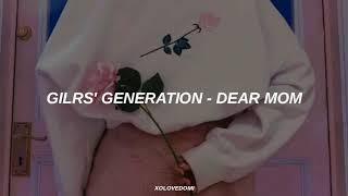 Girls' Generation - Dear Mom // Sub Español