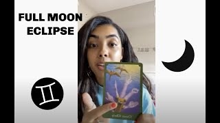 FULL MOON IN GEMINI ECLIPSE: energy update + journaling prompts