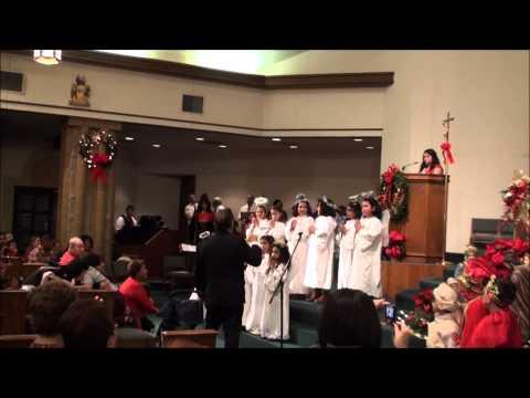 Sacred Heart Church Christmas Pageant 2013