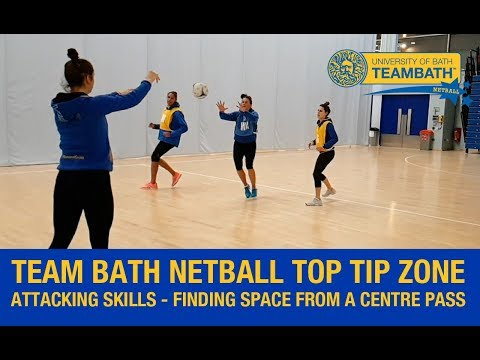 Team Bath Netball Top Tip Zone - Attacking Skills With Rachel Shaw