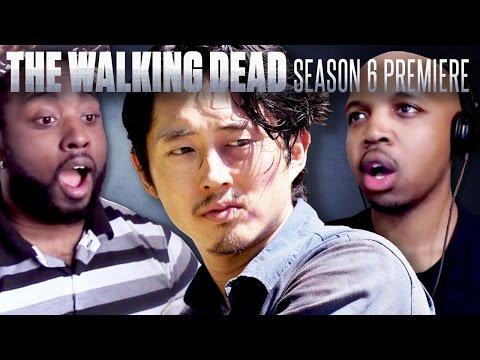 The Walking Dead: Season 6 Premiere Fan Reaction Compilation!