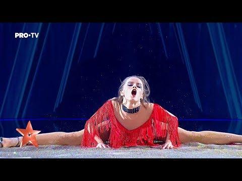 Yeva Shiyanova, concurenta care a dansat în făină, a revenit cu un număr incendiar