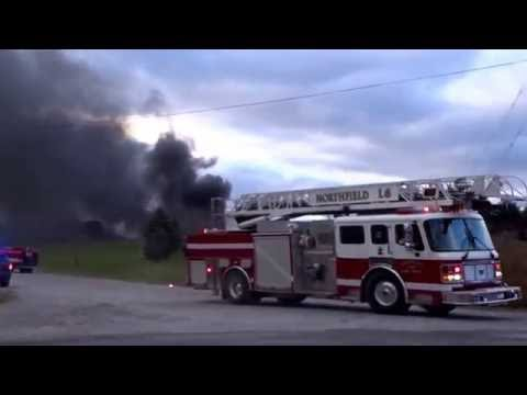 Great Lakes Recycling Fire Salem Township