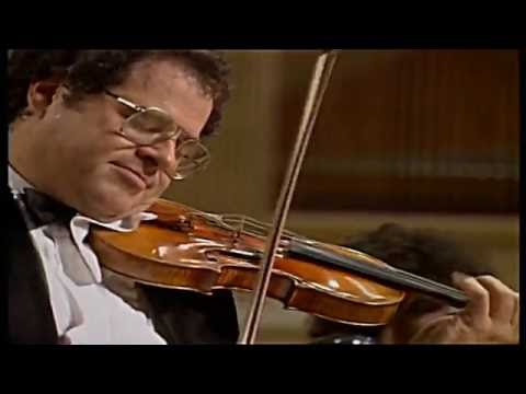 """WIENIAWSKI """"Etude Caprice"""" Op.18, No.4 - Itzhak Perlman"""