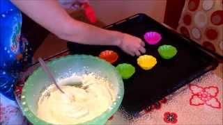Простой рецепт творожных кексов / How to make cupcakes