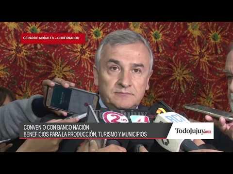 González Fraga: Jujuy es una de las que más aprovecha los créditos del Banco Nación