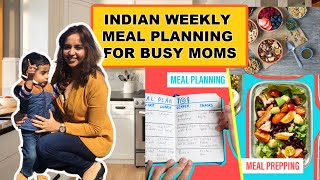 INDIAN WEEKLY MEAL PLANNING FOR BUSY MOMS~INSTANT HEALTHY BREAKFAST RECIPES~INDIAN MOM VLOGGER